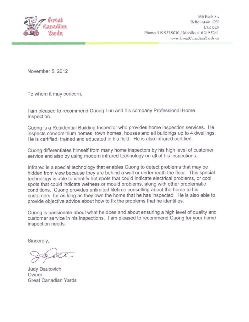 Prof Home Inspection Endorsement 792x1024 Testimonials